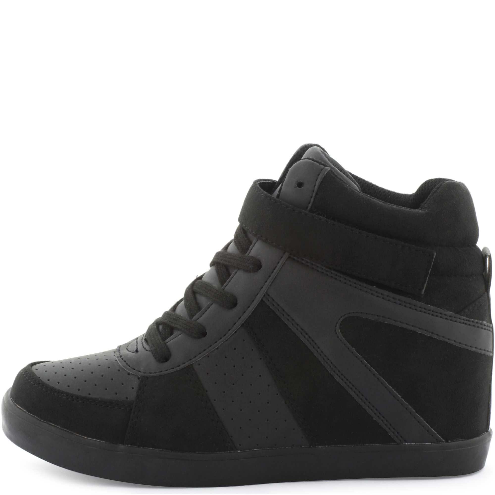 5fc0fff2919026 Baskets compensées à lacets Femme - Kiabi - 19,99€   mode   Sneakers ...