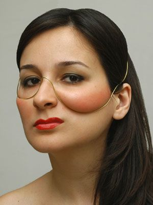 Pictures of unusual facial shapes pic 118