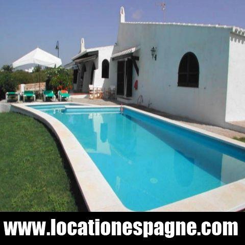 Location Espagne Villa à louer à Serena Maison de vacances à louer