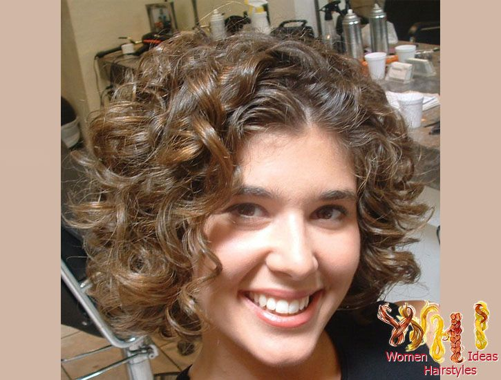 Peachy 1000 Images About Haircuts For Fine Curly Hair On Pinterest Short Hairstyles Gunalazisus