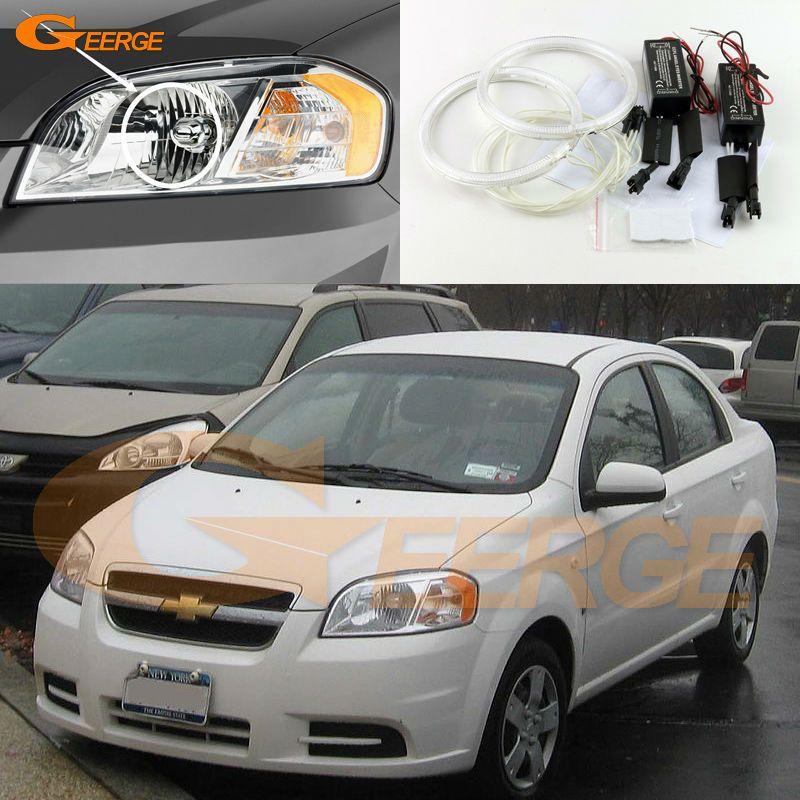 For Chevrolet Aveo Sedan 2007 2008 2009 2010 Halogen Headlight