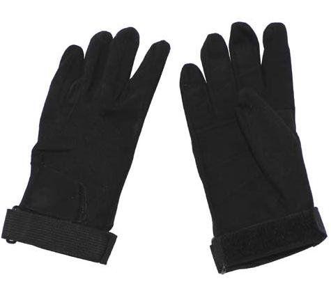 MFH Fingerhandschuhe, Stripes, Neopren, schwarz / mehr Infos auf: www.Guntia-Militaria-Shop.de