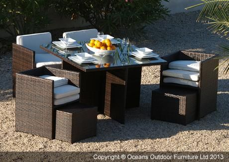 Phenomenal Haiti Cube Garden Dining Set Oceans Outdoor Furniture Ltd Download Free Architecture Designs Jebrpmadebymaigaardcom
