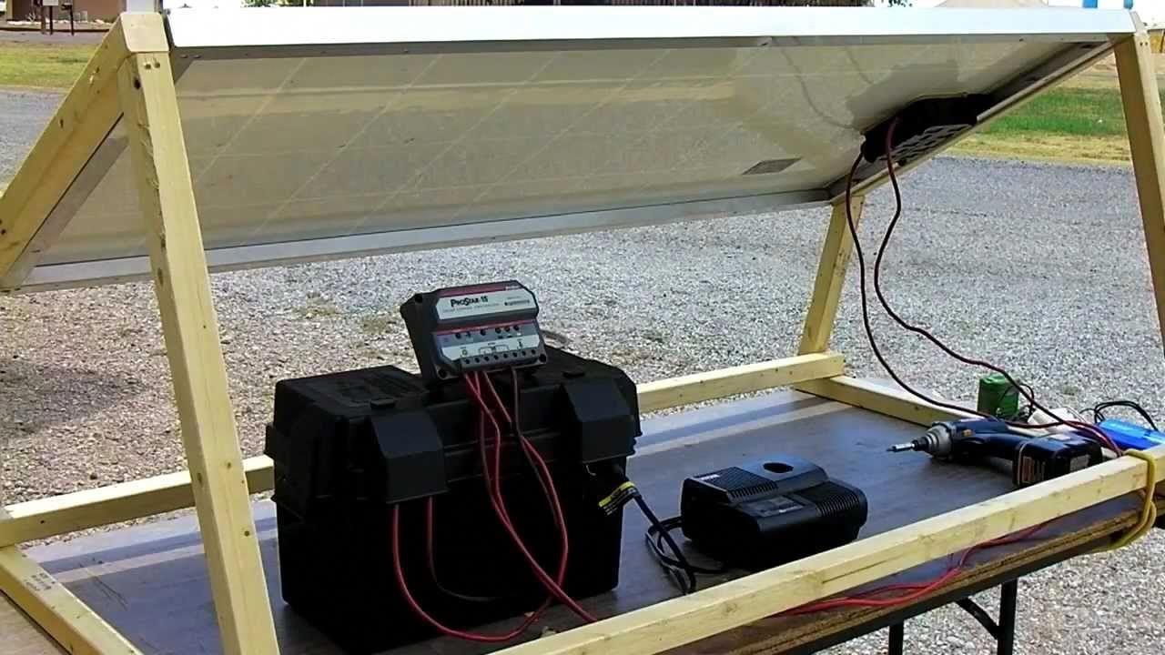 How to build a solar generator diy survival prepper