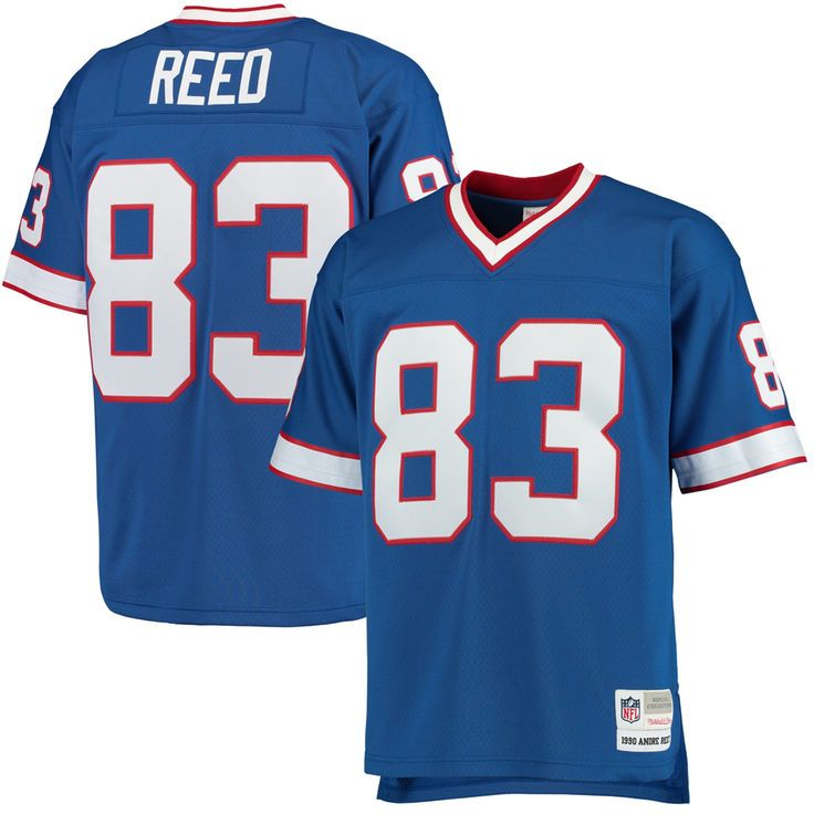 Andre Reed Buffalo Bills Mitchell & Ness Retired Player Replica Jersey - Royal - $149.99