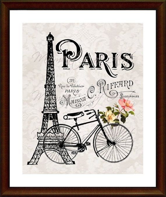 Eiffel Tower Wall Art Prints Paris Bicycle Print French Etsy Eiffel Tower Wall Art 8x10 Art Prints Paris Art