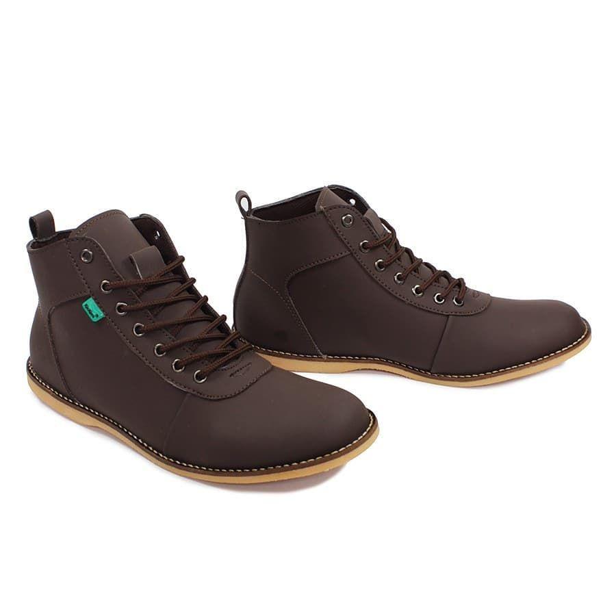 Sepatu Pria Boot Kickers Bandit Brodo Boots Casual Formal Original