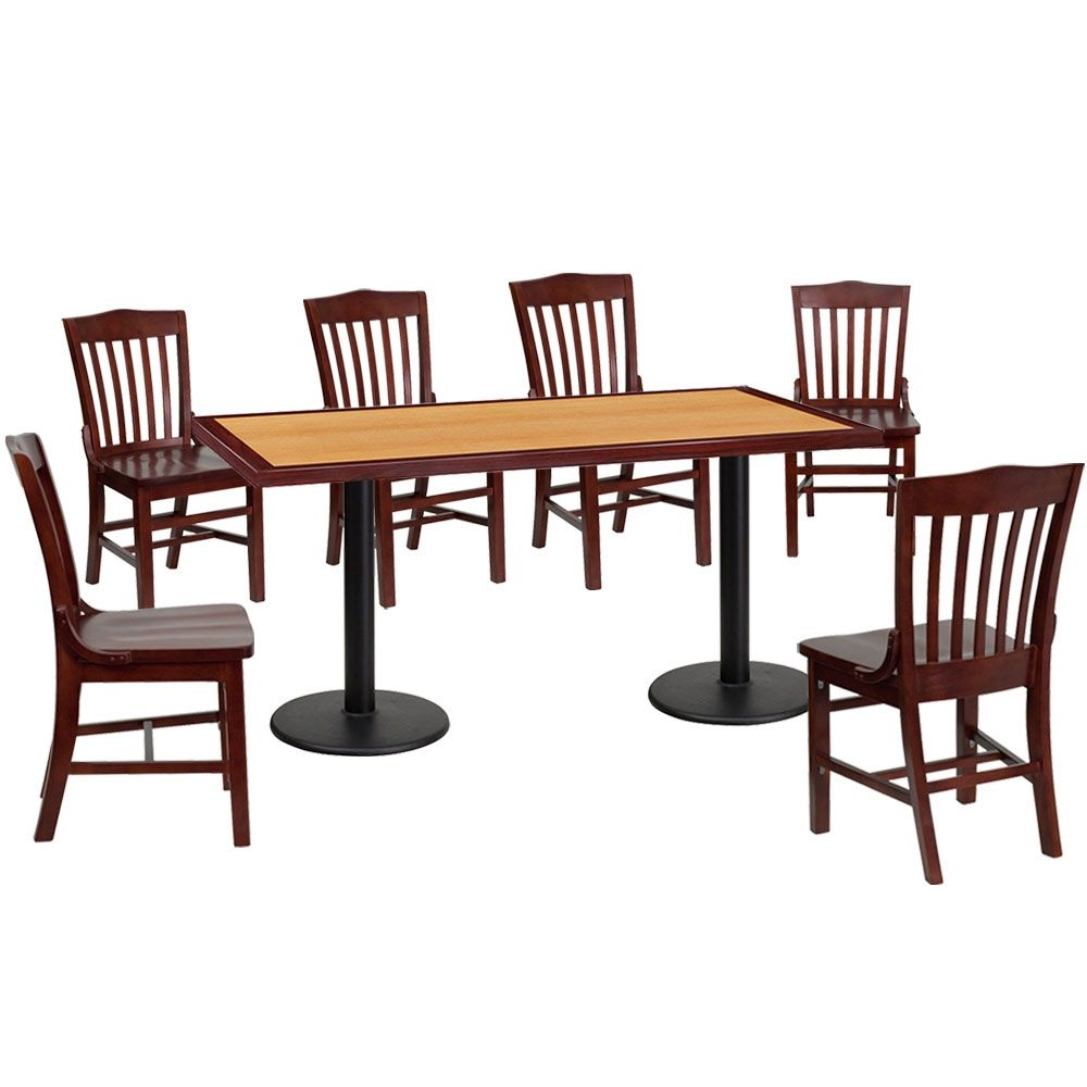 Breakroom Table And Chair Set - Break room table and chair sets