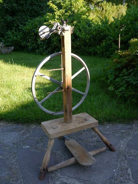 FilzSpecht : Spinnrad von Breco