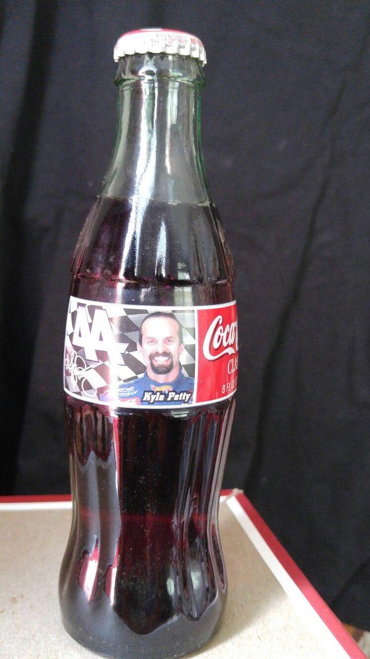 1998 Kyle Petty Coca Cola Bottle