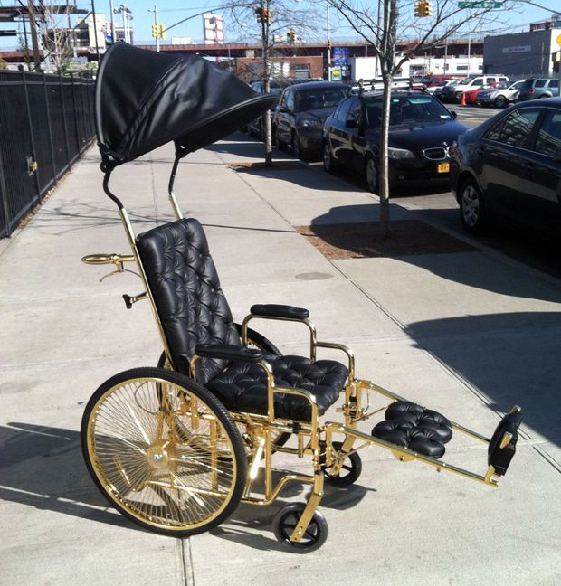 Tricked Out Wheelchair