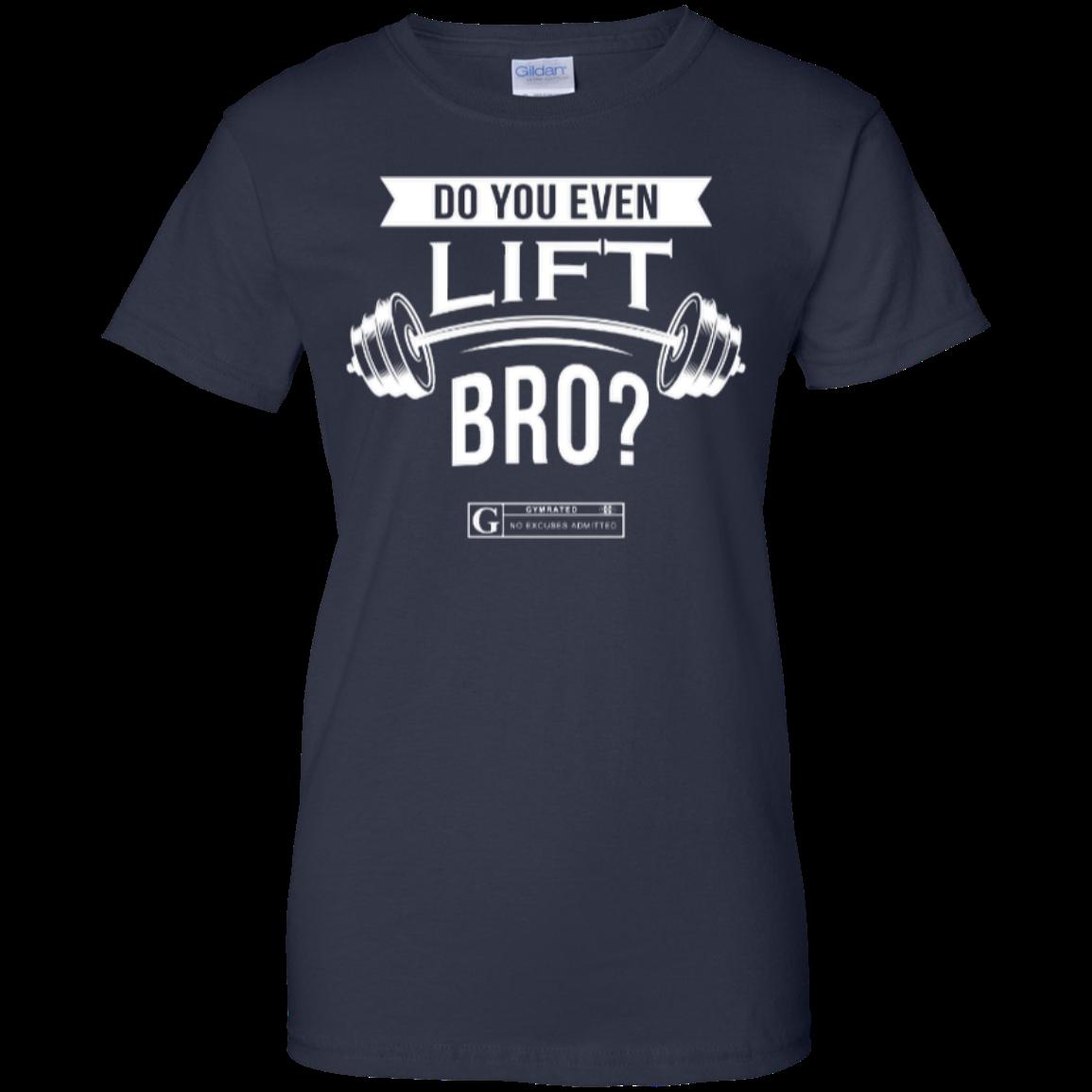 """Do You Even Lift Bro"" Women's Tees & Tanks"