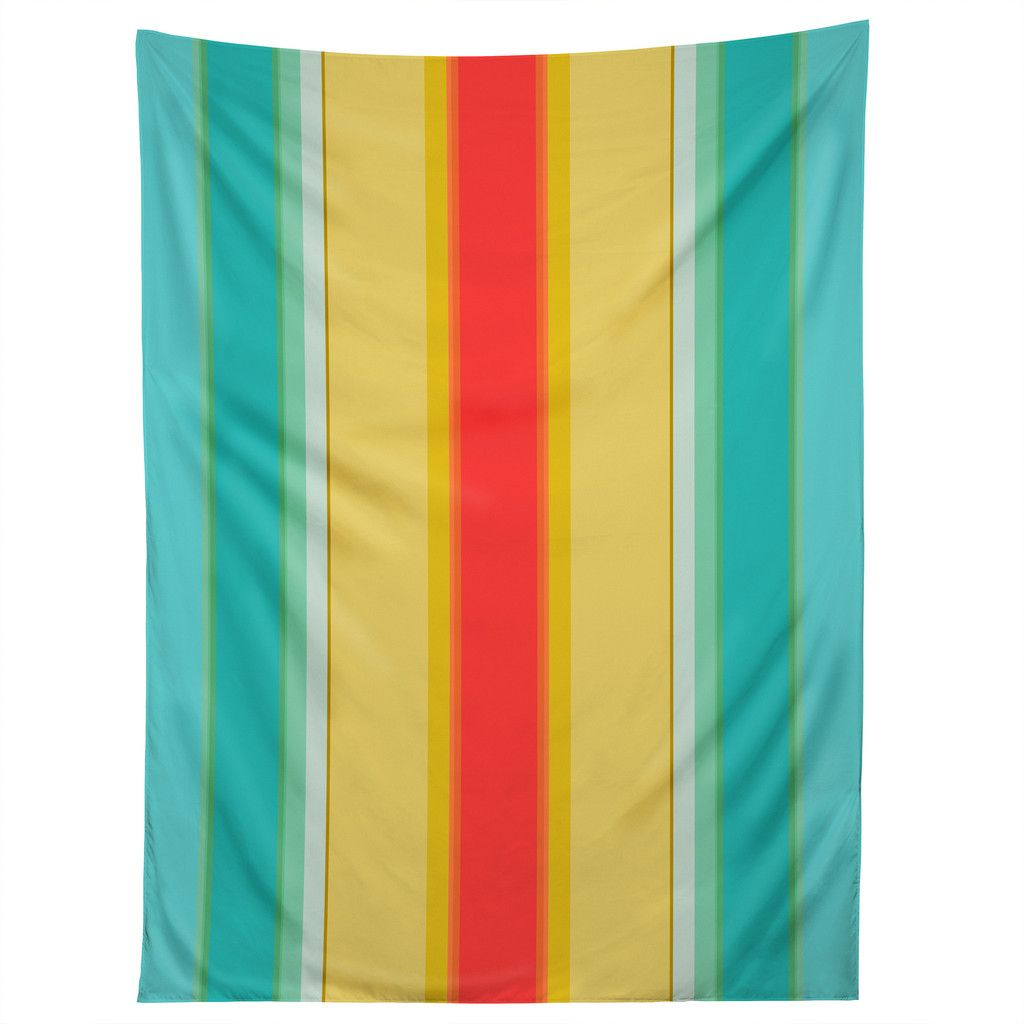 Sharon Turner deckchair stripe Tapestry | DENY Designs Home Accessories - would make a nice tablecloth!
