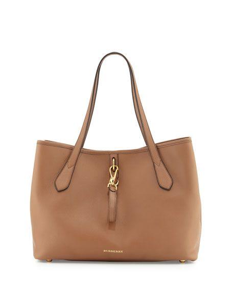 0f033e9fbd83 Burberry Honeybrook Medium Derby Tote Bag