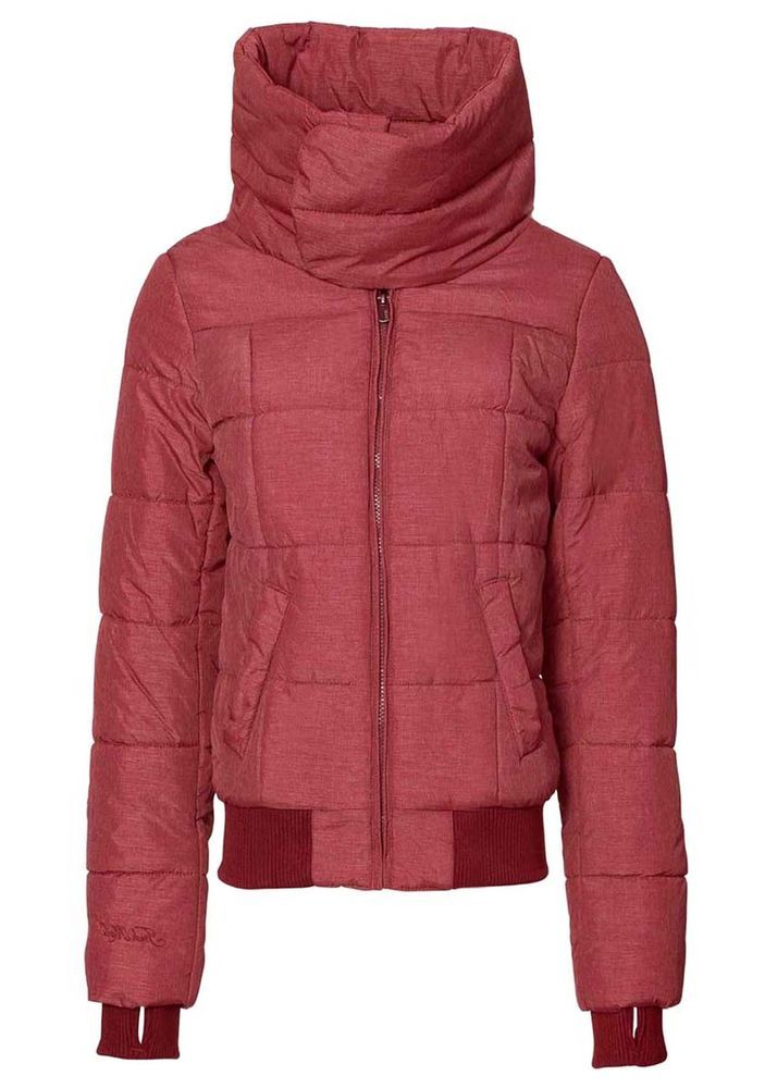 Damen Jacke Parka Steppjacke Rot Fresh Made Neu Gr. L40