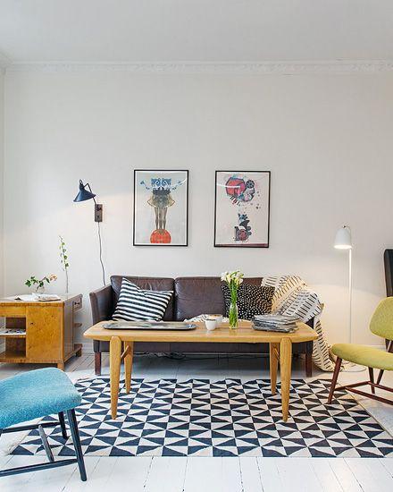 Un appartement à la déco éclectique shake my blog