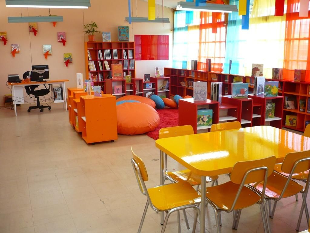 Bibliotecas Escolares Mayo 2010 Muebles Pinterest  # Muebles Fomento