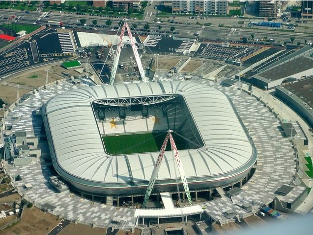 An aerial view of Wembley Stadium which will host soccer events