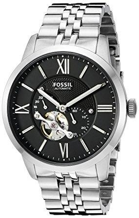 fossil me3107 townsman analog black dial menu0027s watch