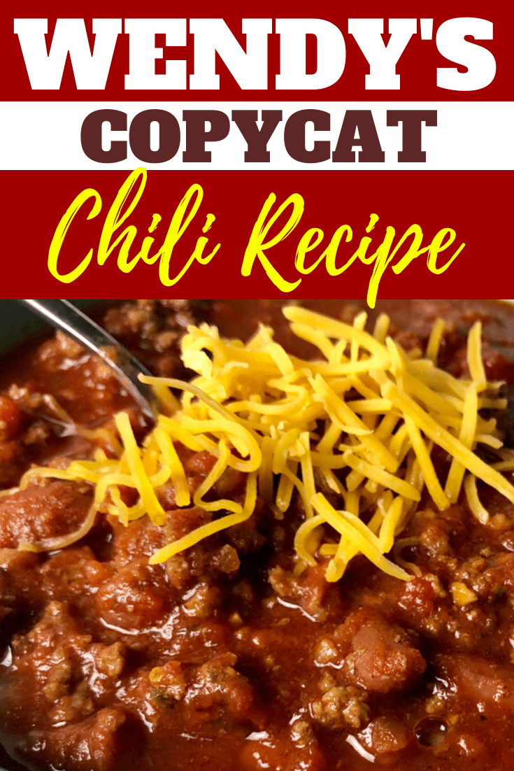 Wendy S Chili Recipe Copycat Recipe Wendys Chili Recipe Wendys Chili Recipe Copycat Wendys Chili
