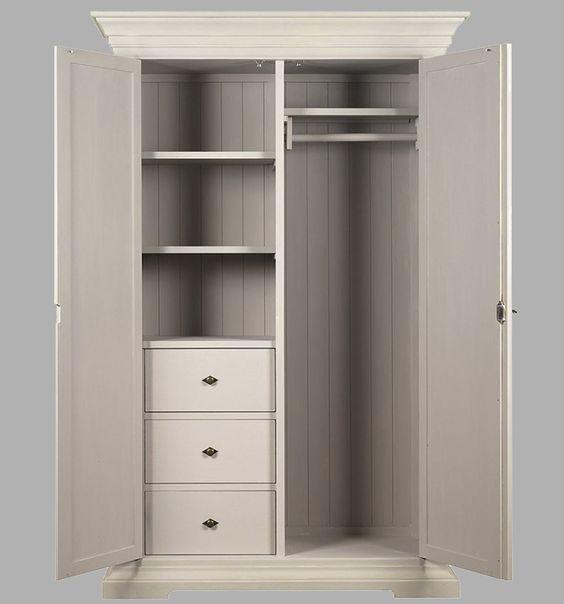 Armarios vintage blanco dormitorio para closets buscar - Dormitorios vintage blanco ...