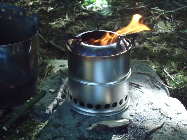 Wild Stoves Wood gas stove MK II Wood Gasifification - Wood Gas Stove