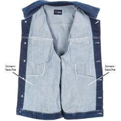Photo of Gas men's denim jacket, cotton stretch 12oz, medium blue gas gas