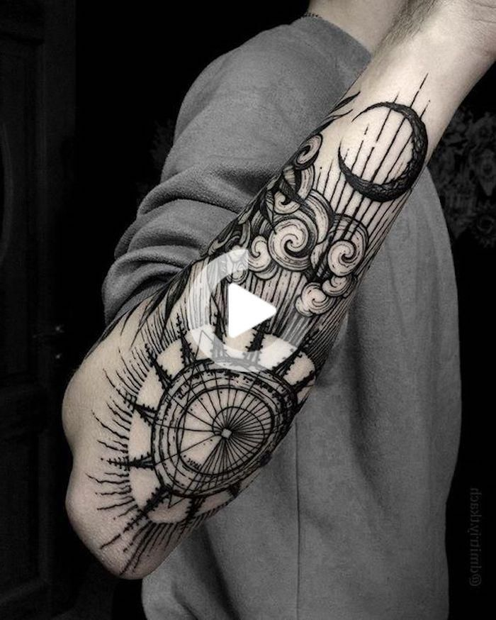 1001 cool and realistic Viking tattoos Inspiring in 2020 ...