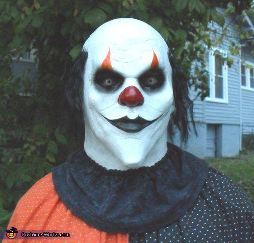 killer clown makeup - Buscar con Google | face painting ...