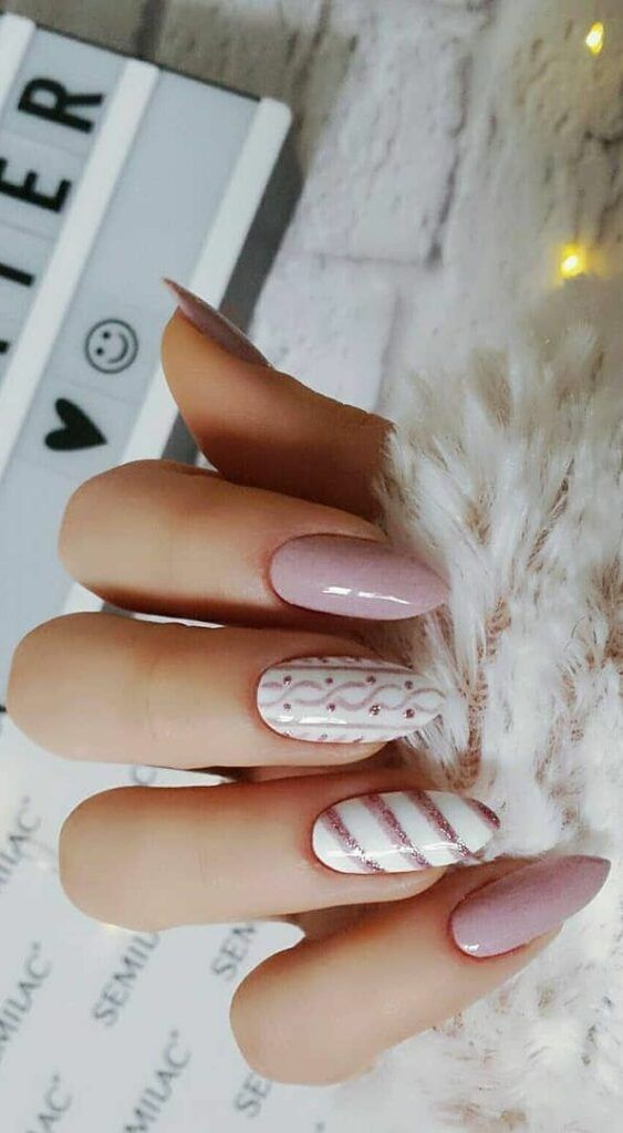 55 Stylish Nail Designs For New Year 2020 , Page 7 of 220