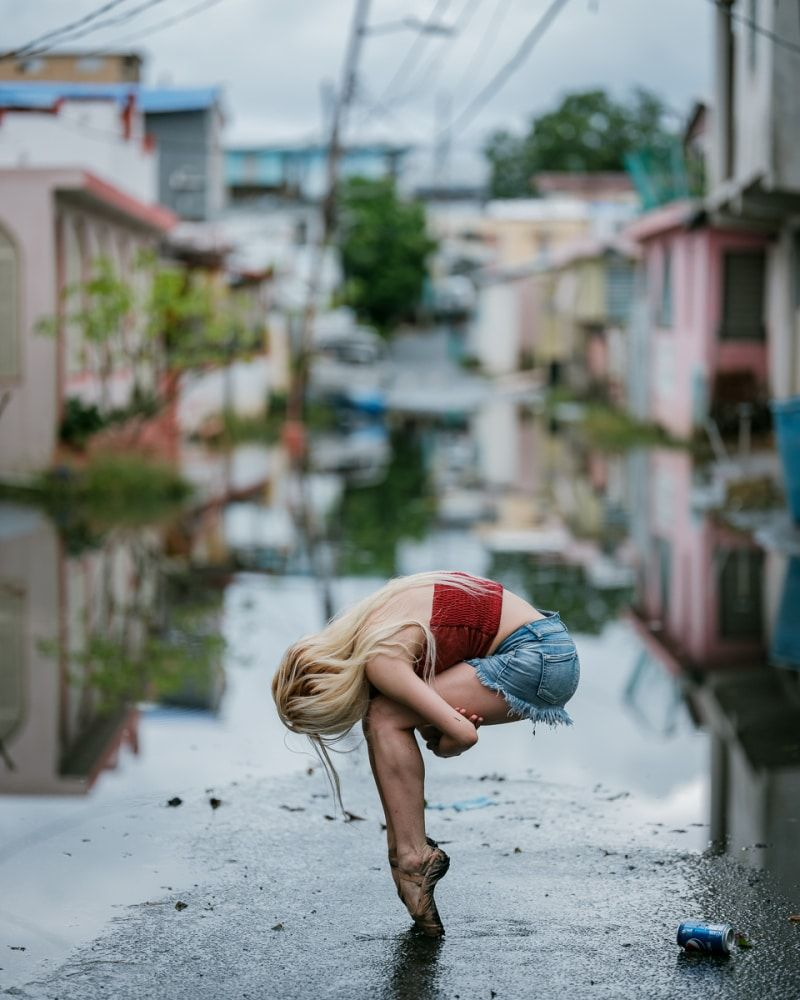 Powerful Photos Of Ballet Dancers On Streets Of Puerto Rico 5 Months After Hurricane Maria Photography Inspo Photography Series Photo