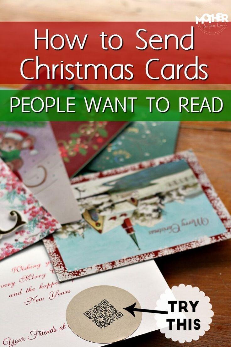 How to Send Christmas Cards