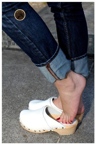 classic clogs | White clogs, Girls