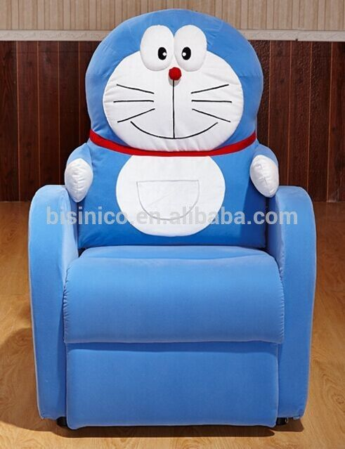 Bisini Doraemon Cat Shape Living Room Sofa Chair Removable And