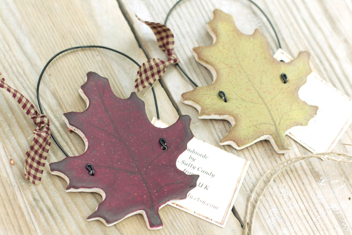 Autumn Leaf Hanging Decorations Wall Decor Fall Wedding Thanksgiving DecorPrimitive Country