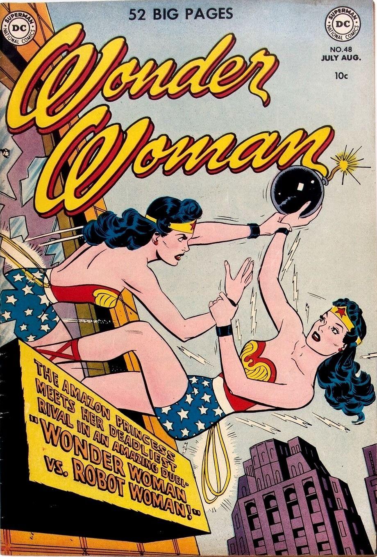 Mudwerks Wonder Woman 48 Dc 1951 H G Peter Art Irv Novick Cover Wonder Woman Comic Wonder Woman Old Comic Books