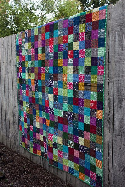 Single Girl Patchwork Quilt by jrcraft, via Flickr