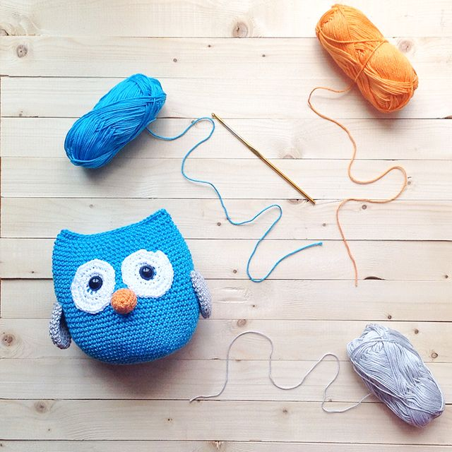 Little Things Blogged free owl pattern | monederos y bolsos crochet ...