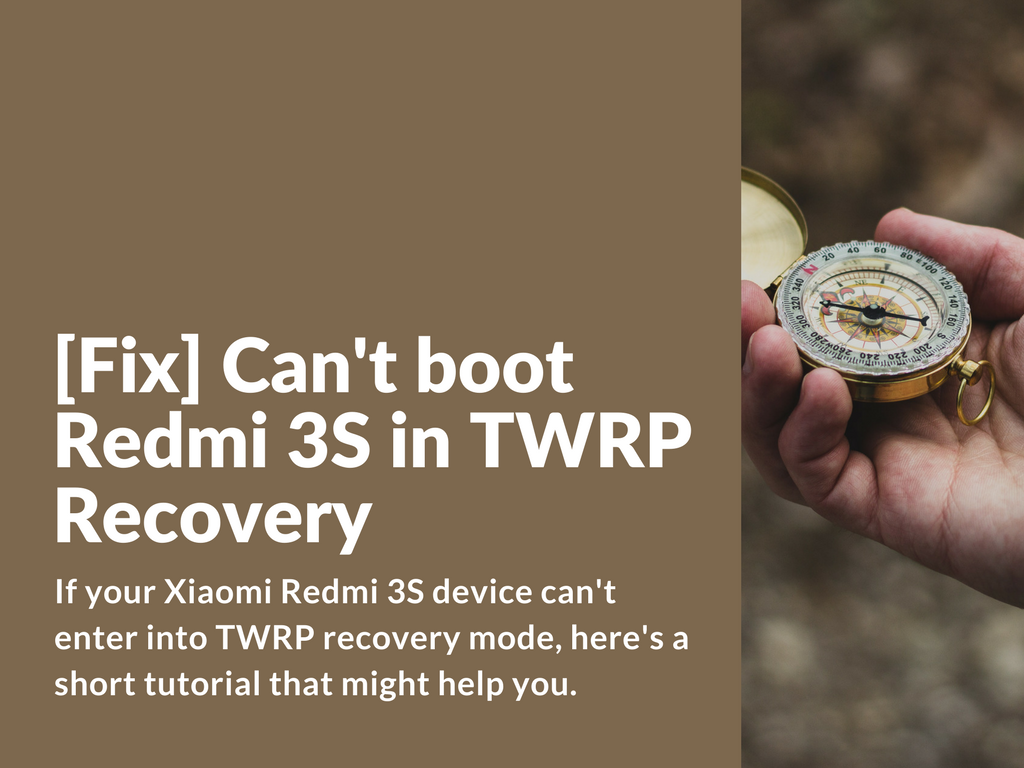 Fix Efs From Twrp