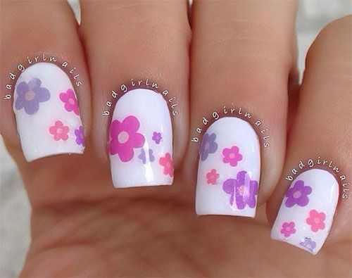 Nailsquenalbertini Spring Flower Nail Art Designs 2016 Nails N
