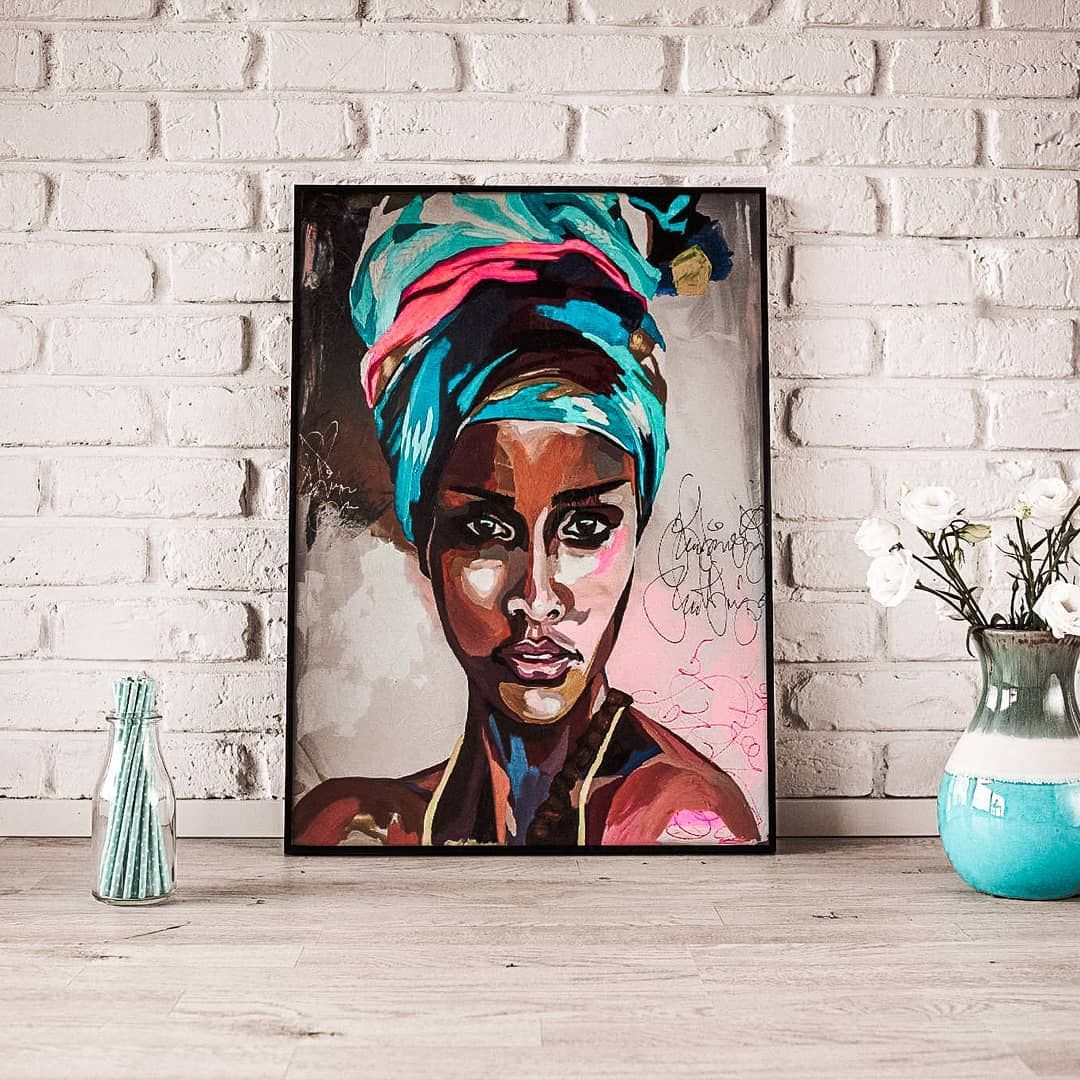 💎 Check this Colorful Girl Diamond Painting at Meiiss.com 💎  Use discount code