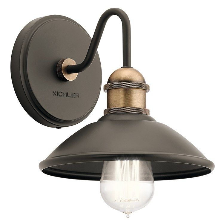 Photo of Clyde Single-Light Bathroom Wall Sconce
