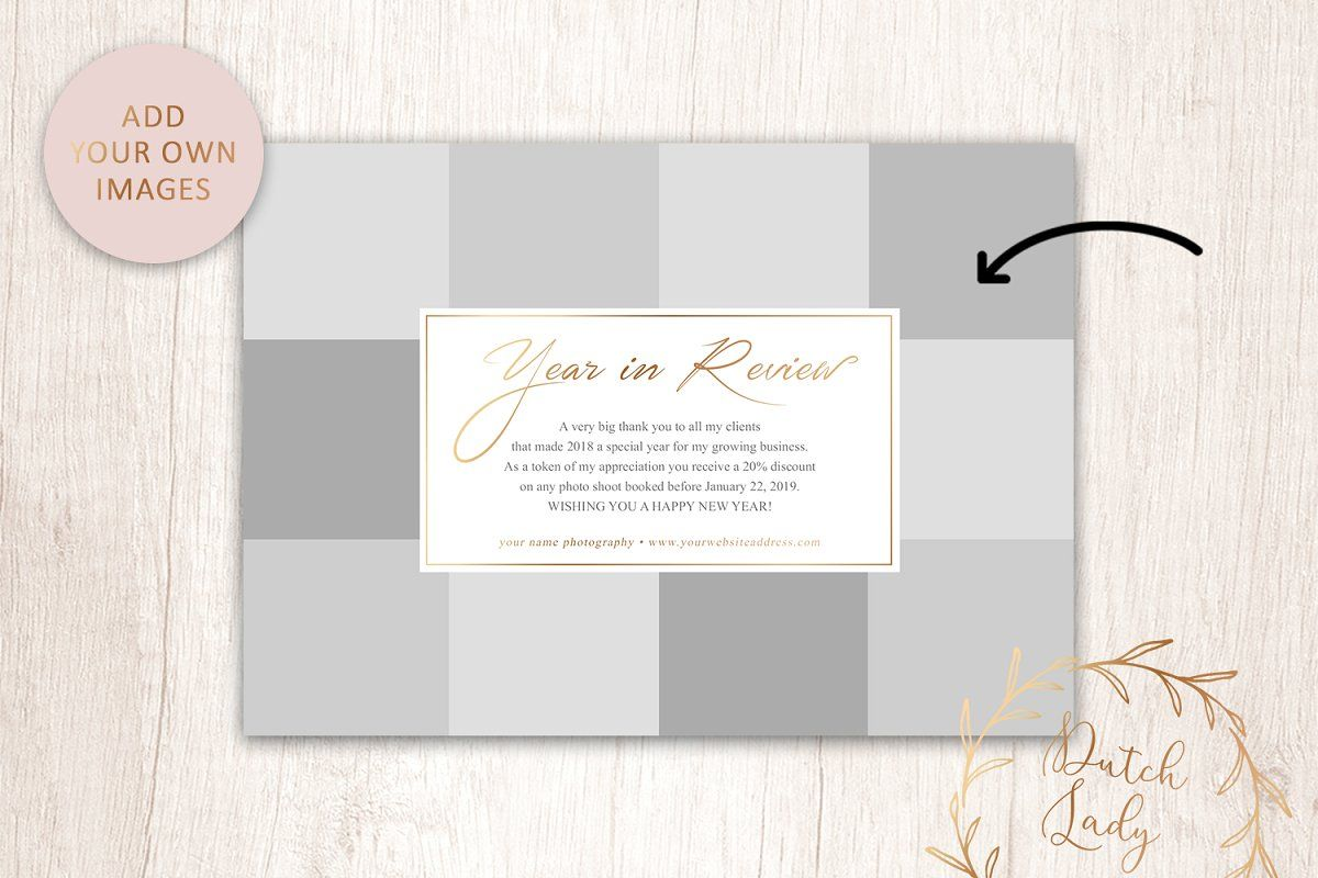 Psd Year In Review Card Template 5 Graphic Design Company Card Template Cards