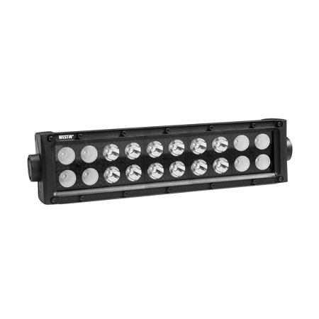 Westin B Force Led Light Bar Double Row 10 Inch Combo W 3w Cree Black Bar Lighting Led Light Bars Led