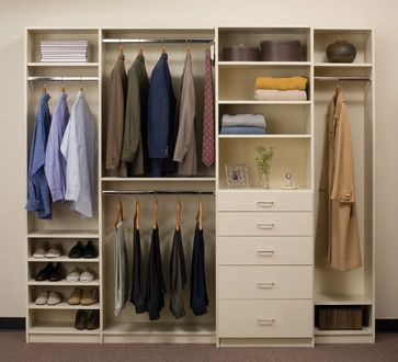 reach in closet organizers | Reach In Closets contemporary closet