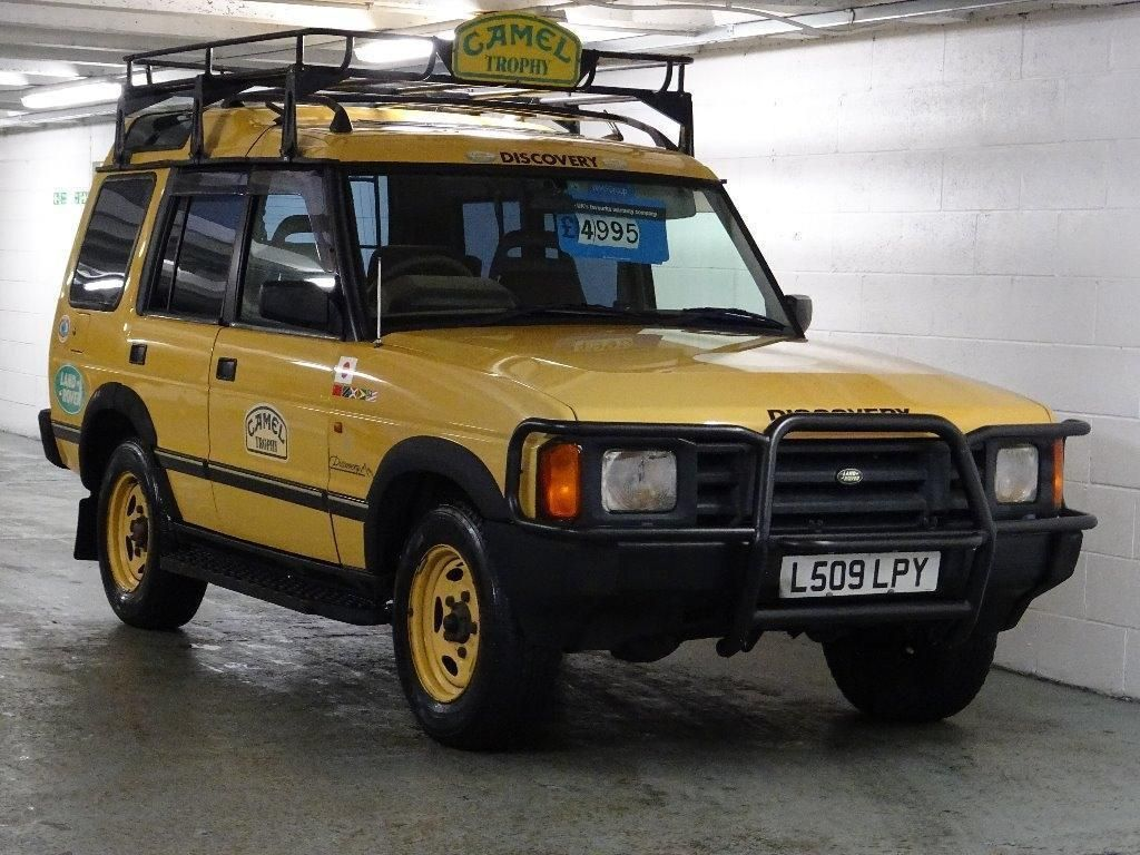1994 Land Rover Discovery 4.0 V8 CAMEL TROPHY EDITION