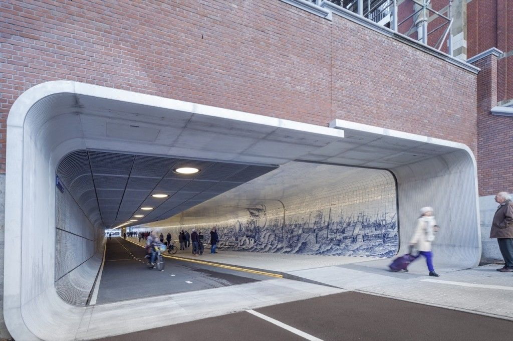 Cuyperspassage UBICACIÓN: Países Bajos PROYECTO: Benthem Crouwel Architects Año: 2016