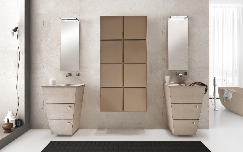 Mobili Bagno Idea. Trendy Mobile Da Bagno Sospeso Da Cm Con Lavabo ...