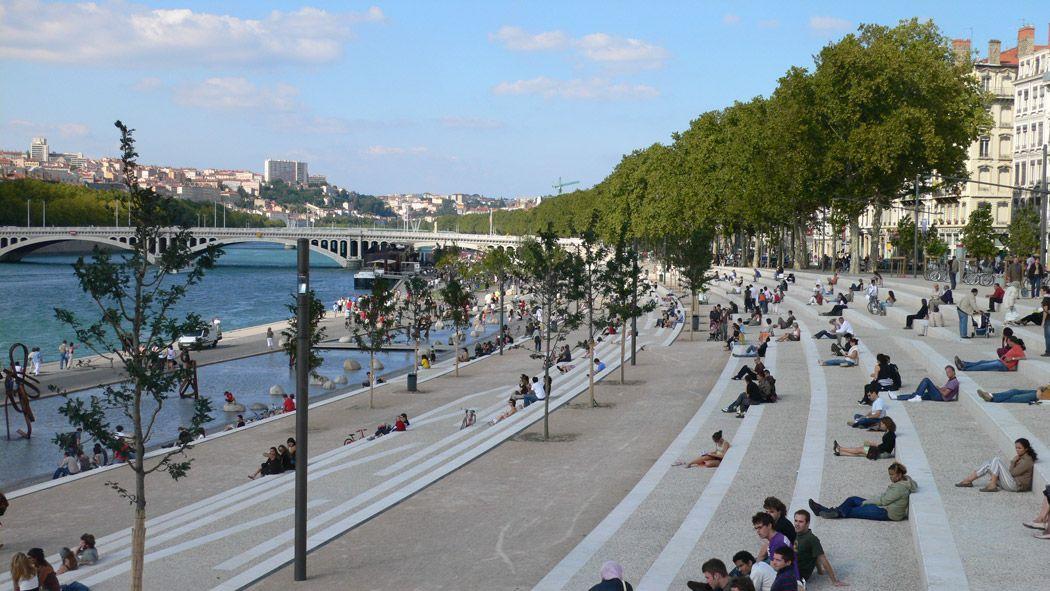Landscape architecture in situ architectes paysagistes - Paysagiste lyon ...