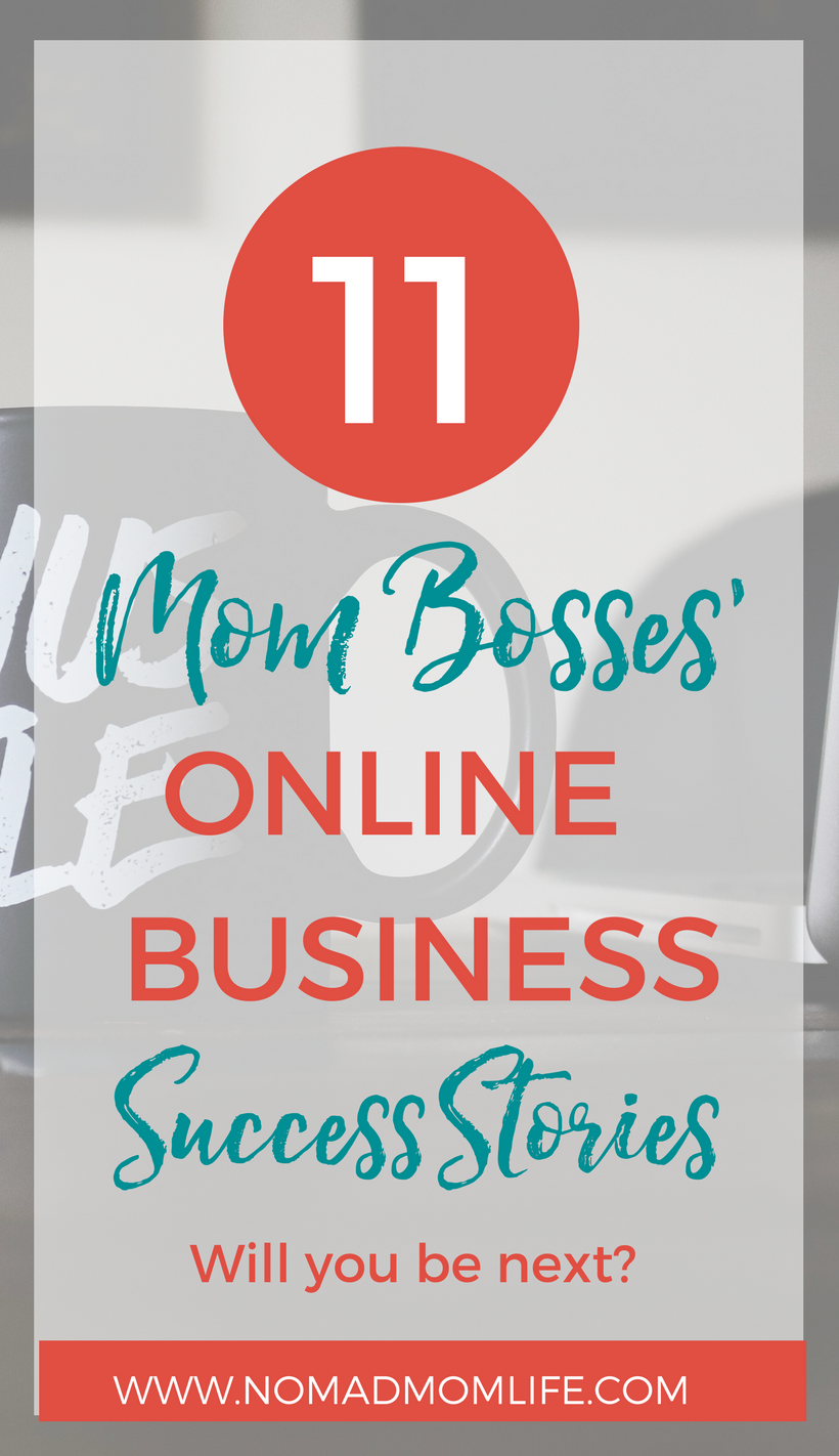 11 Mompreneur Online Business Successes | Online business and Business